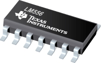 circuito integrado LM556D SMD