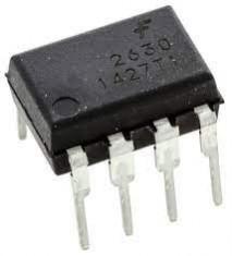circuito integrado HCPL2630 dip 8 pinos  fairchild