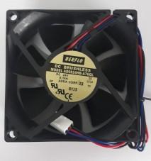 micro ventilador cooler ventoinha 80x80x25mm 24v rolamento ad0824hb-a76