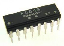 circuito integrado PC849 dip 16 pinos sharp