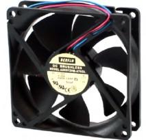 Micro ventilador 92x92x25mm 12v ad0912hb-a76 rolamento