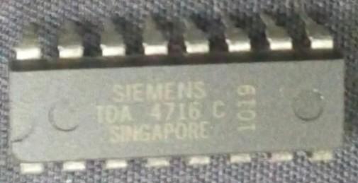 circuito integrado TDA4716C dip 16 pinos
