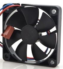 Micro ventilador cooler 24VCC 60x60x10mm AD0624HB-G76 rolamento