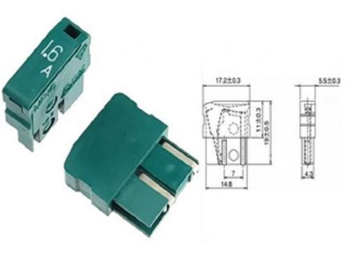 fusivel MP16 1,6A fusivel alarme daito fanuc novo