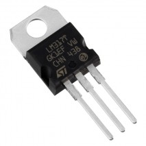circuito integrado LM317T