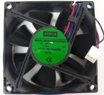 cooler micro ventilador cooler AD08024UX257603 80x80x25mm mancal hypro